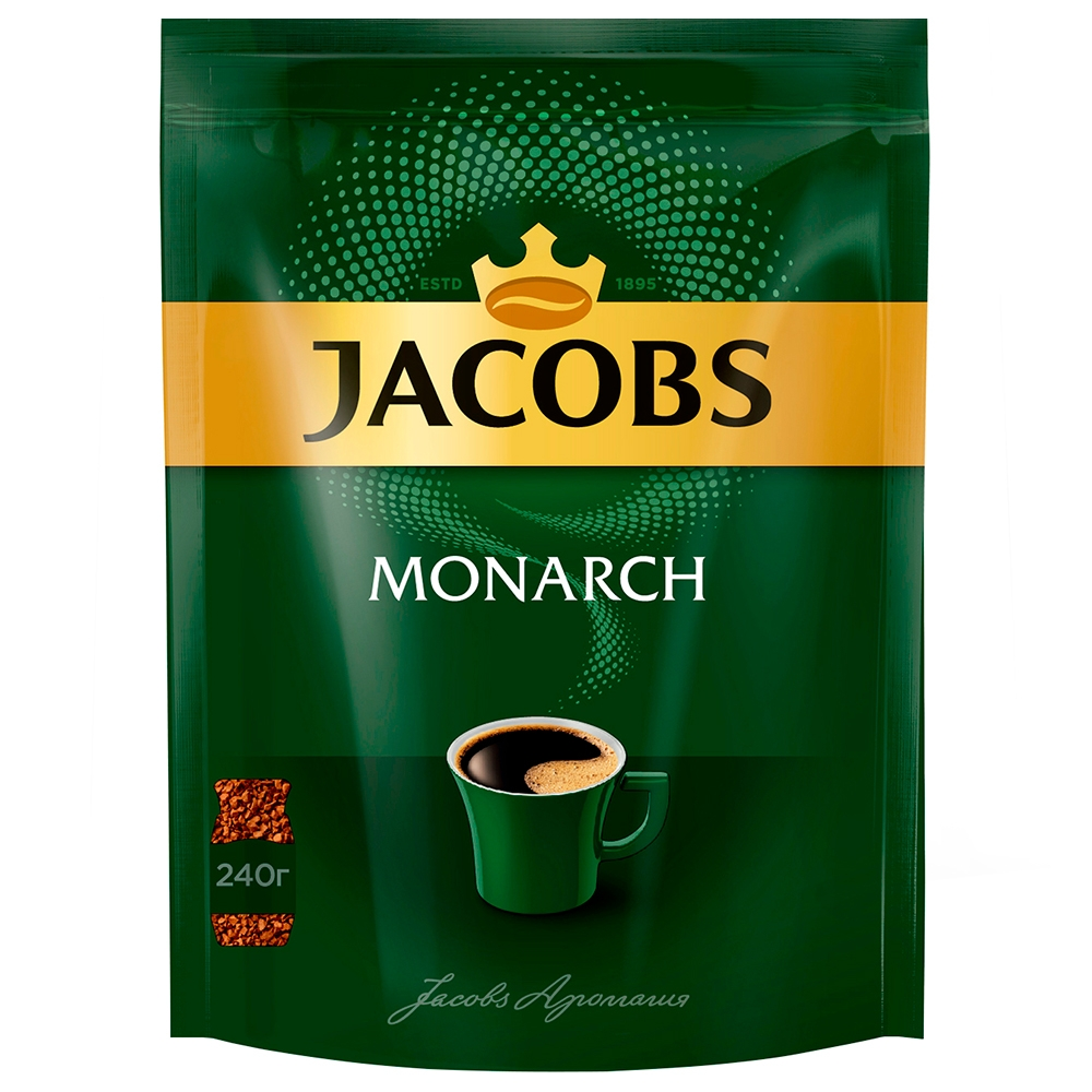 кофе Jacobs Monarch м/у 240гр