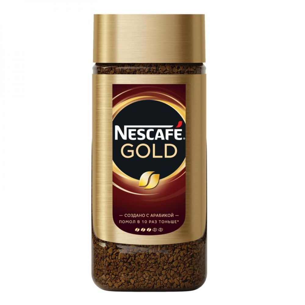 кофе Nescafe Gold 95 г (стекло)