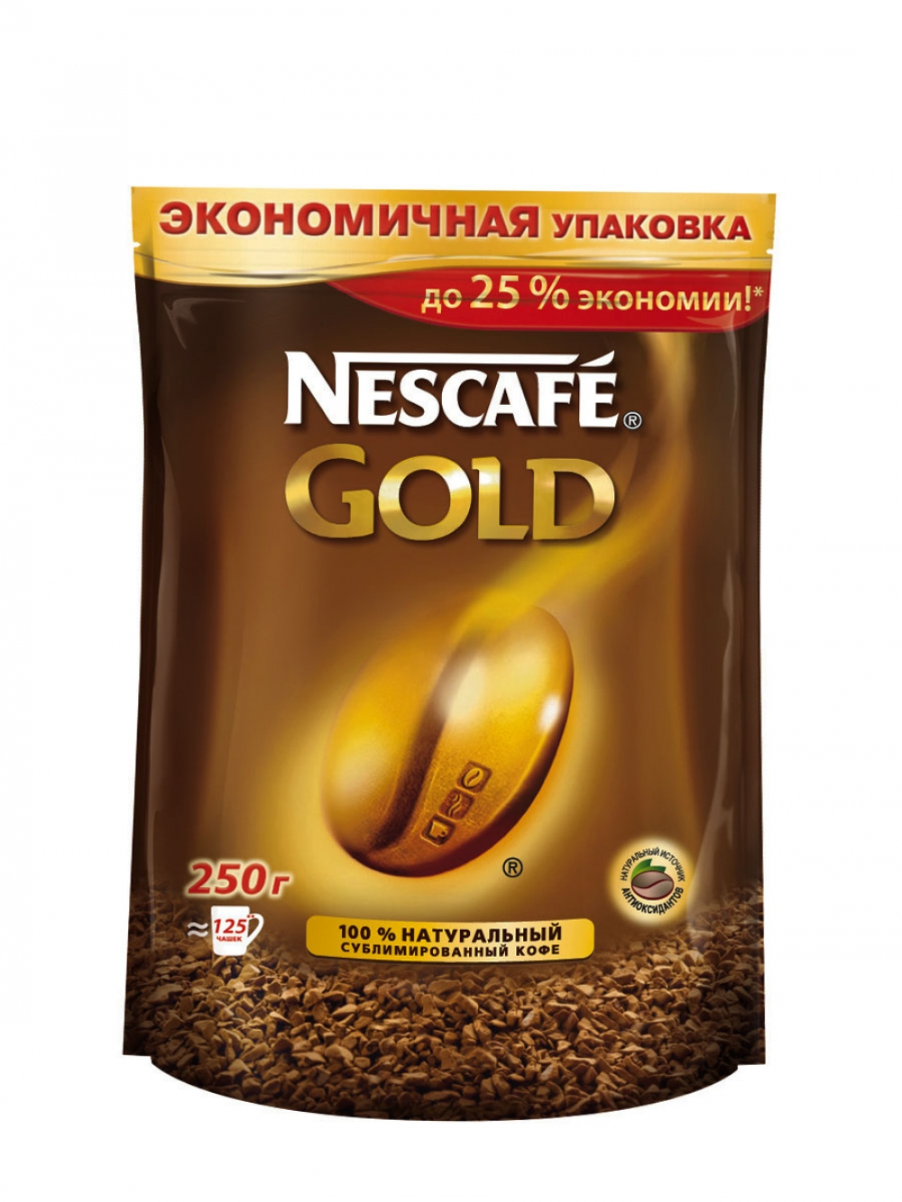 кофе Nescafe GOLD м/у 250гр